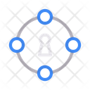 Lock Connection Private Icon