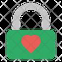 Lock Love Couple Icon