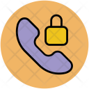 Lock Call Block Icon