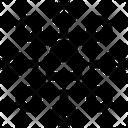 Network Lock Cyber Icon