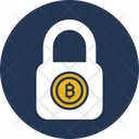 Lock Bitcoin Encryption Bitcoin Lock Icon