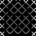 Lock Login Closed Icon