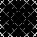 Lock Network Cyber Icon