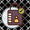 Lock Private Id Private User Icon
