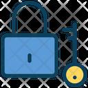 Lock Key Password Icon
