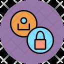 Lock User Employee Icon