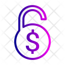 Lock Safe Dollar Icon