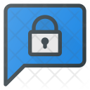 Lock Message Chat Icon
