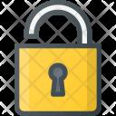 Lock Open Secure Icon