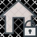Lock Apartment House Icon