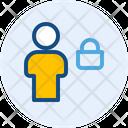 Lock Account Icon