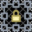Lock Layers Design Icon