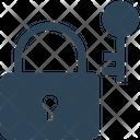 Seo Lock Key Icon