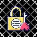 Lock And Key Namsan Love Icon