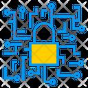 Lock Artificial Intelligence Lock Data Icon
