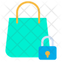 Lock Handbag Shopping Bag Icon