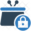Lock Bag Secure Bag Lock Suitcase Icon