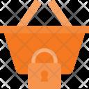 Basket Lock Shopping Icon