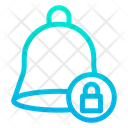 Lock Bell Alarm Icon