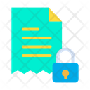 Lock Bill Icon