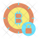 Lock Lock Bitcoin Secure Bitcoin Icon