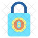 Lock Security Lock Bitcoin Secure Bitcoin Icon
