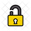 Lock Broken Robbery Icon