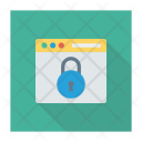 Lock Browser Password Secure Icon
