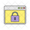 Lock Browser Web Icon