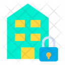 Lock Building Icon