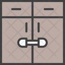 Lock Bureau Bureau Child Safety Icon