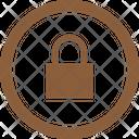 Lock Button Icon