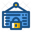 Lock Calendar Icon