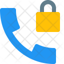 Call Lock Secure Icon