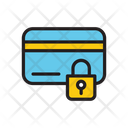 Lock Card Secure Card Credit Card Icon