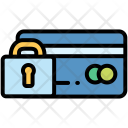 Lock Card Ecommerce Icon