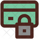 Lock Card Block Card Atm Card Icon