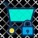 Lock Cart Icon