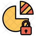 Lock Chart Icon