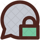 Lock Chat Privacy Chat Personal Chat Icon