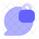 Lock Chat Bubble Secure Chat Secure Chatting Icon