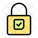 Lock Check Icon