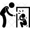 Child Lock Punishment Punish Icon