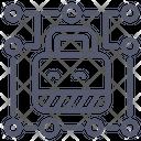 Lock Circuit Lock Protection Icon