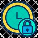 Lock Clock Icon