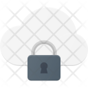 Lock Symbol Cloud Icon