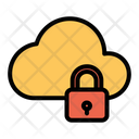 Lock Cloud Icon