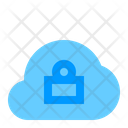Lock Cloud Icon