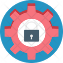 Lock Color Icon