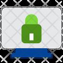 Lock Computer Lock Monitor Computer Icon